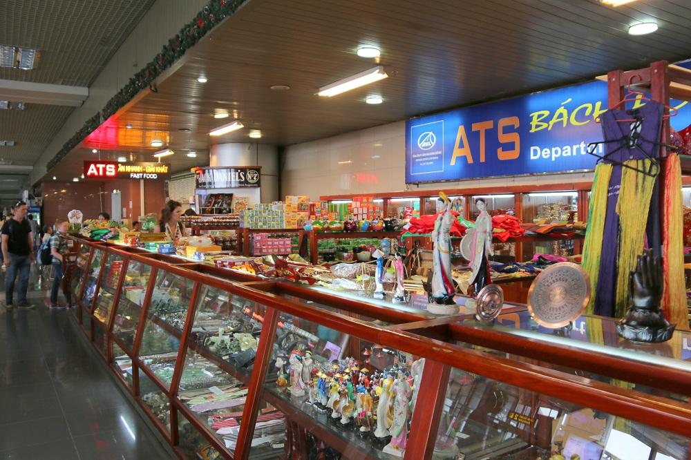 Dịch vụ bách hóa,quà tặng trong sân bay Nội Bài-Taxi Nội Bài