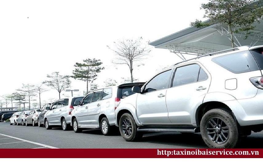 Giá cước Taxi Bắc Giang đi Nội Bài Hà Nội trọn gói giá tốt