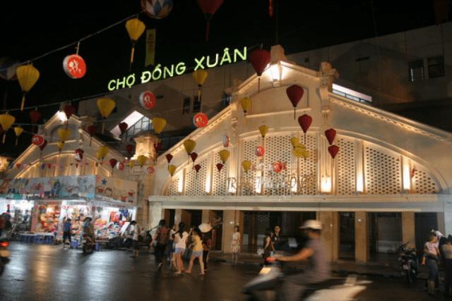 Taxi Nội Bài đi Chợ đồng xuân Hoàn Kiếm Hà Nội,giá xe 250k/4 chỗ