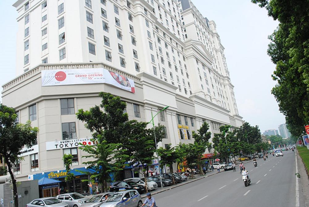 Taxi Nội Bài đi Chung cư Thành công Ba đình Hà Nội 250.000đ/xe 4 chỗ
