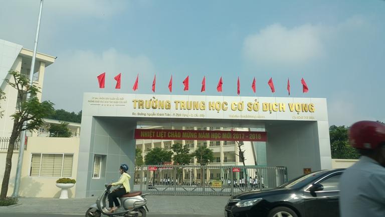 Taxi Nội Bài đi Dịch vọng Cầu giấy Hà Nội 250.000đ/xe 4 chỗ