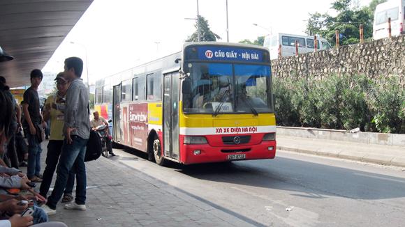 Xe bus 07 Cầu Giấy đi Sân Bay Nội Bài-Taxi Nội Bài