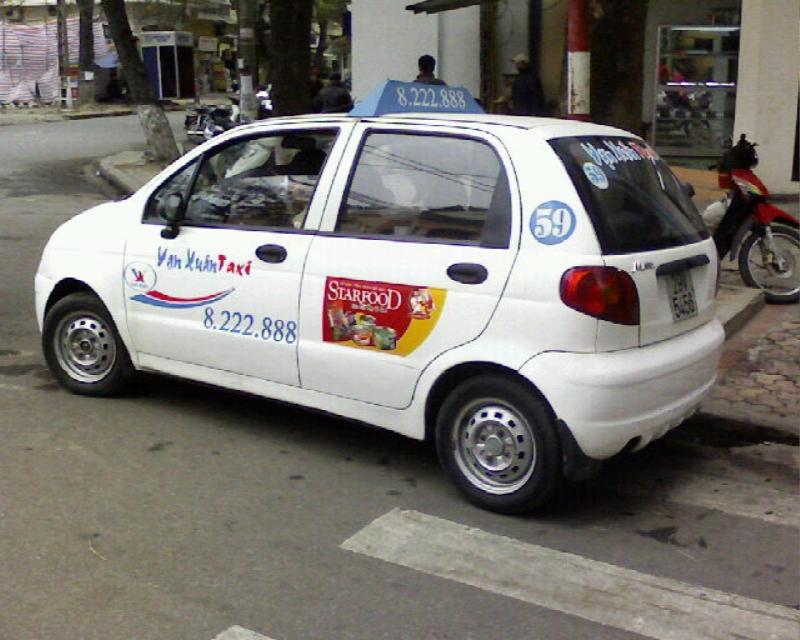 Taxi Vạn Xuân Matiz hà nội,số điện thoại và giá cước-Taxi Nội Bài