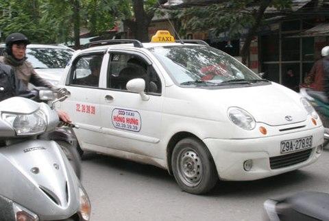 Taxi Phú Hưng Hà Nội,số điện thoại và giá cước-Taxi Nội Bài