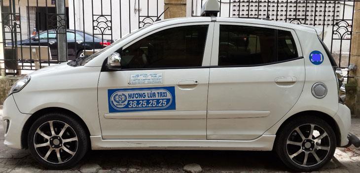 Taxi Hương Lúa Hà Nội,Số điện thoại và giá cước-Taxi Nội Bài