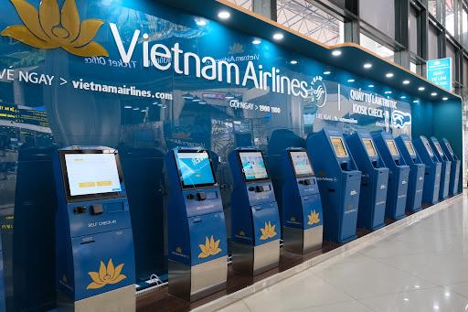 Check in trực tuyến hãng Viet Nam Airlines tại sân bay Nội Bài