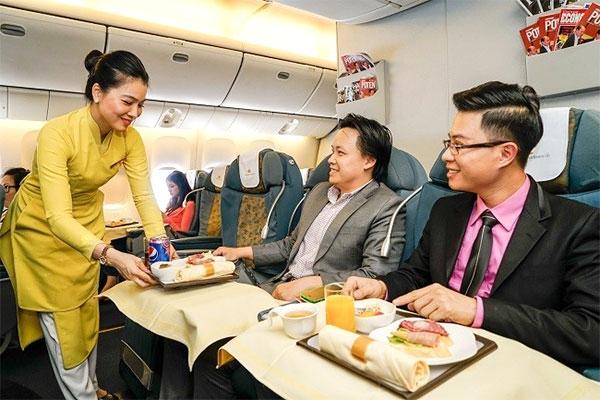 Suất Ăn Đặc Biệt trên chuyến bay của hãng Hàng Không Việt Nam Airlines
