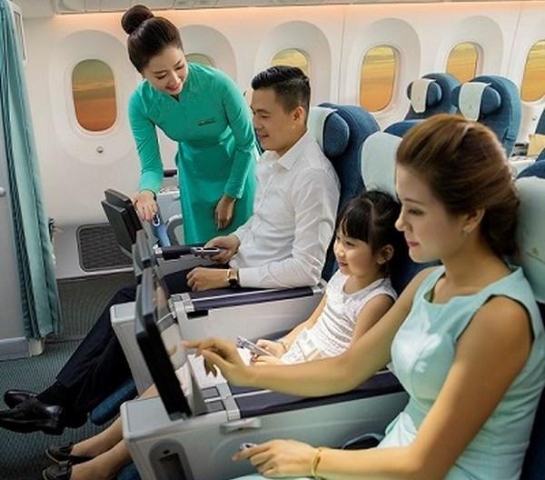 Trẻ Em từ 2 đến 5 tuổi có đồ ăn đặc biệt khi bay Chuyến bay của Việt Nam Airlines