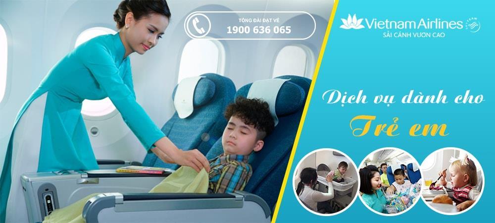 Khi đi Bay của Hãng VietNam Airlines Trẻ Em Cần Lưu ý Điều Gì